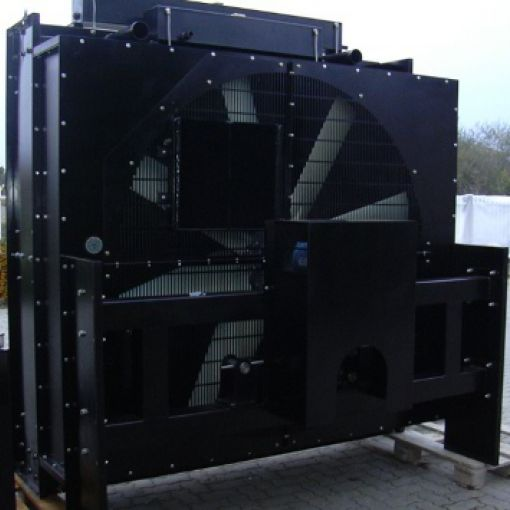MTU engine generator