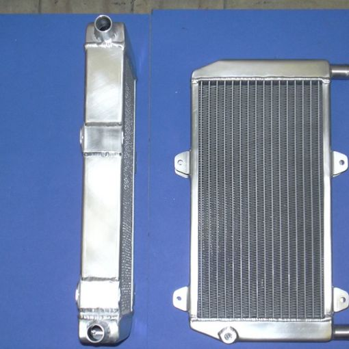 Lightweight aluminum radiator Hydrogen Project